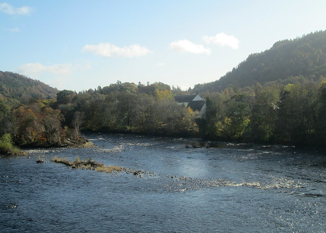 River Tay south , Dunkeld, Perthshire