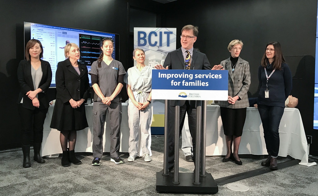 The provincial government is more than doubling the number of specialty nurse training opportunities in the province by funding 1,000 seats each year at the British Columbia Institute of Technology (BCIT).