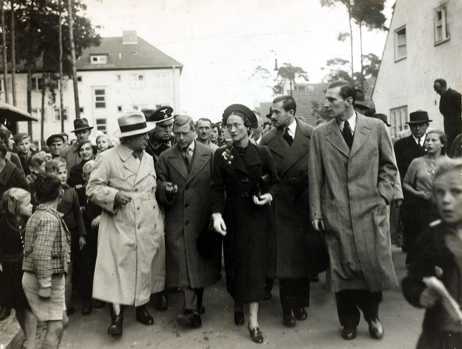 Герцог и герцогиня Виндзорские в Берлине