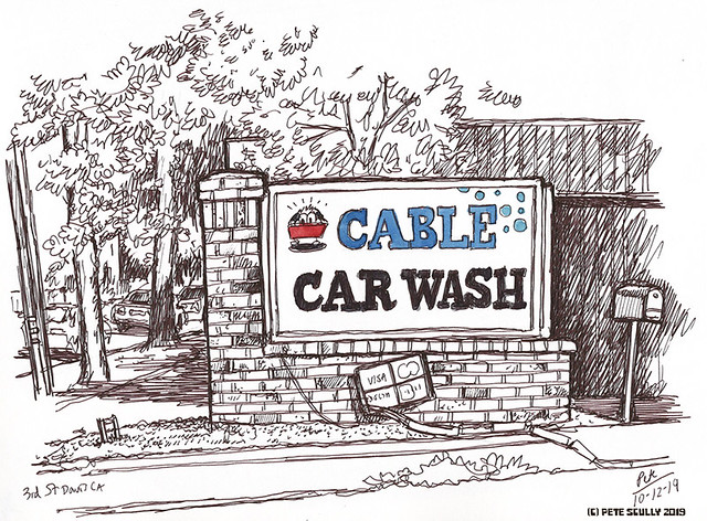 Cable Car Wash, davis