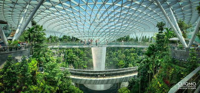 HSBC Rain Vortex at Jewel, Changi Airport, Singapore