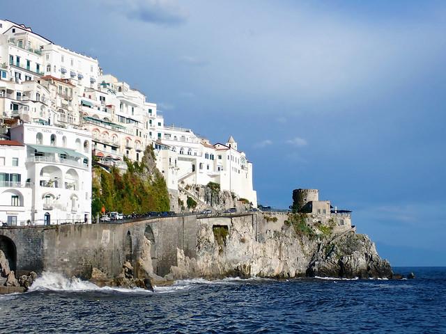 Italy 2019, Amalfi Coast, Amalfi, city on the sea