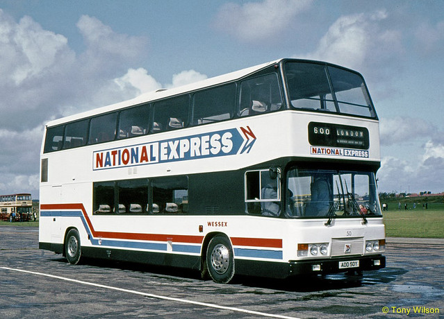 ADD50Y National Bus Company NBC NationalExpress Wessex 50