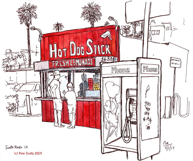 Santa Monica Hot Dog Stick