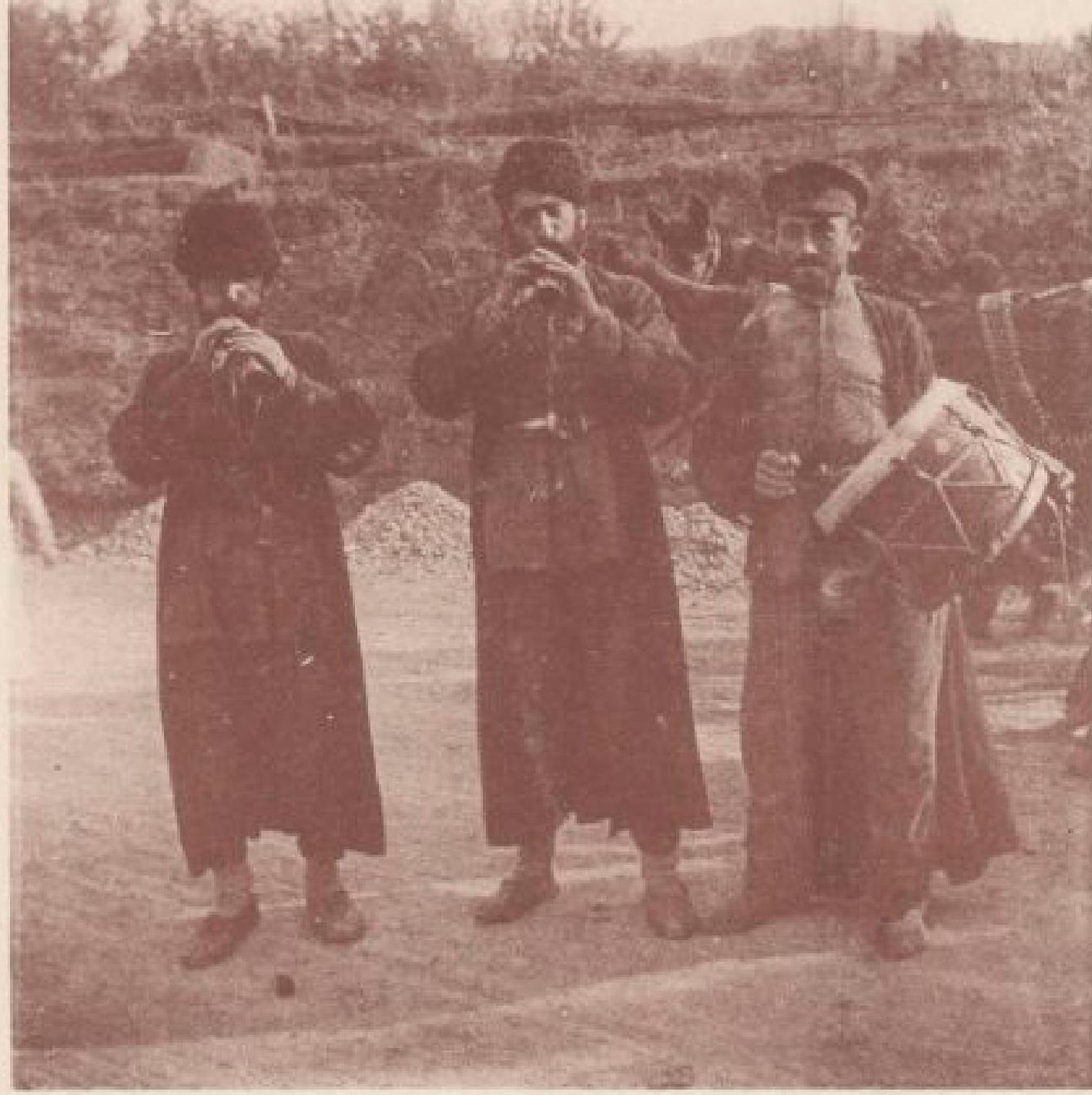 04. Дилижан. Музыканты на армянской свадьбе. 23 октября 1897