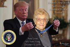 2019 1206 Anna Leone - Presidential Medal