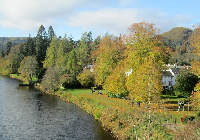 River Tay north, Dunkeld, Perthshire