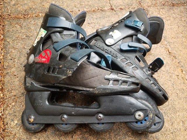 My Rollerblade Coolblades from the mid-90s died Memorial Day, 2019.