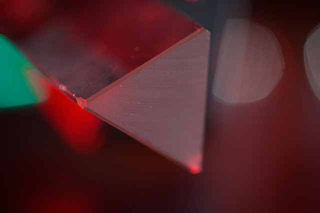 The glass Triangle - my entry for todays MacroMondays theme