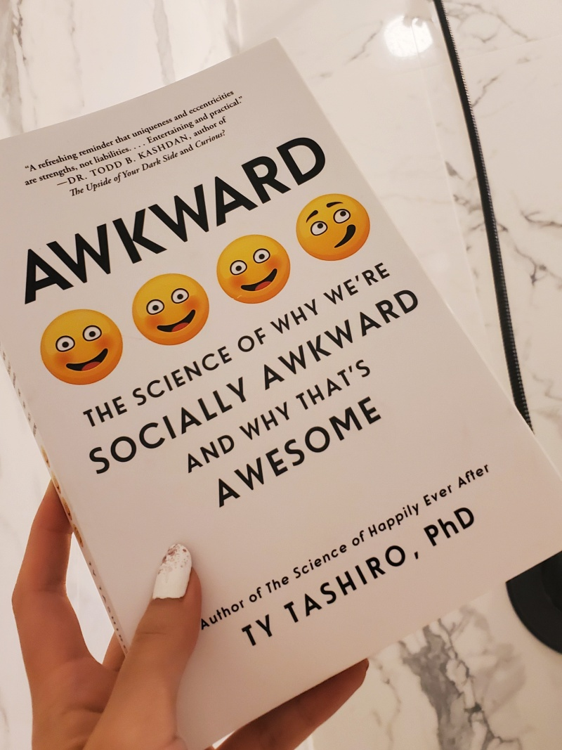 Awkward Ty Tashiro book