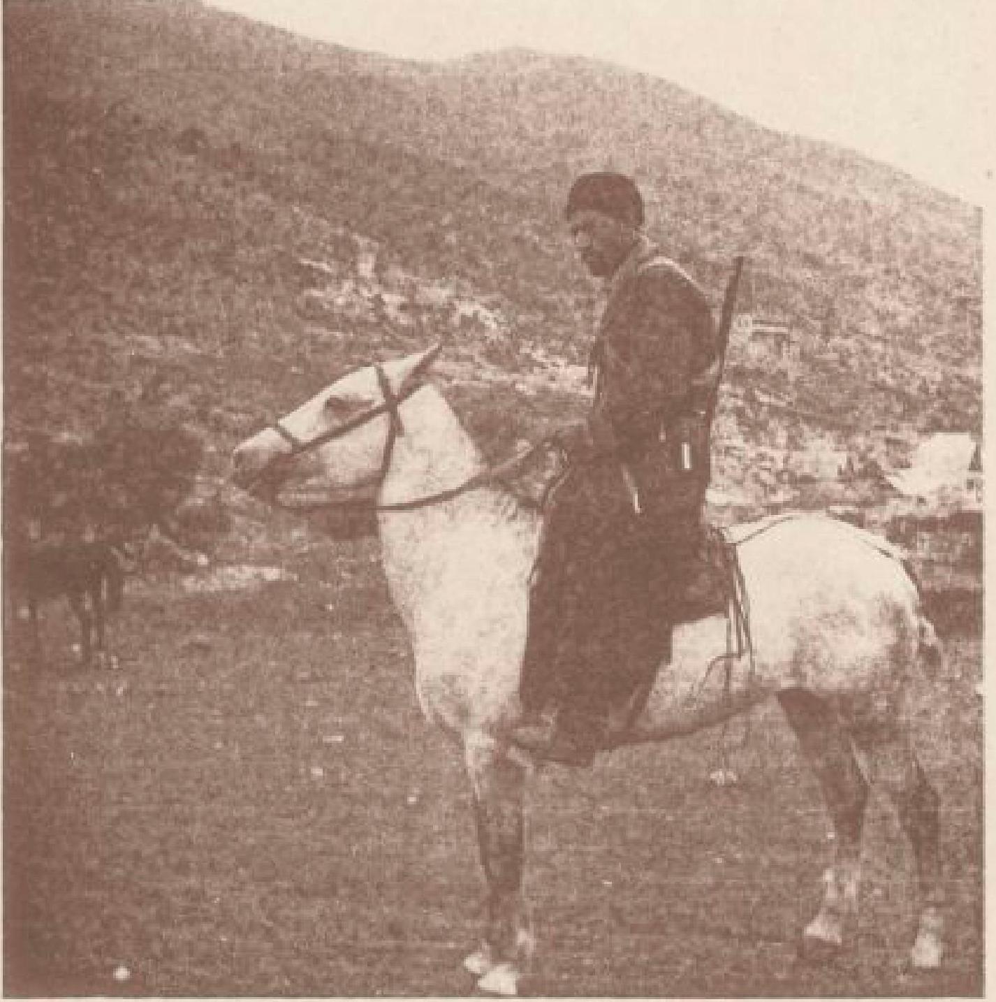 06. Чубучлы. Казак на коне. 24 октября 1897