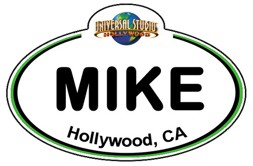 nametag_universalhollywood | by Amy Mickey