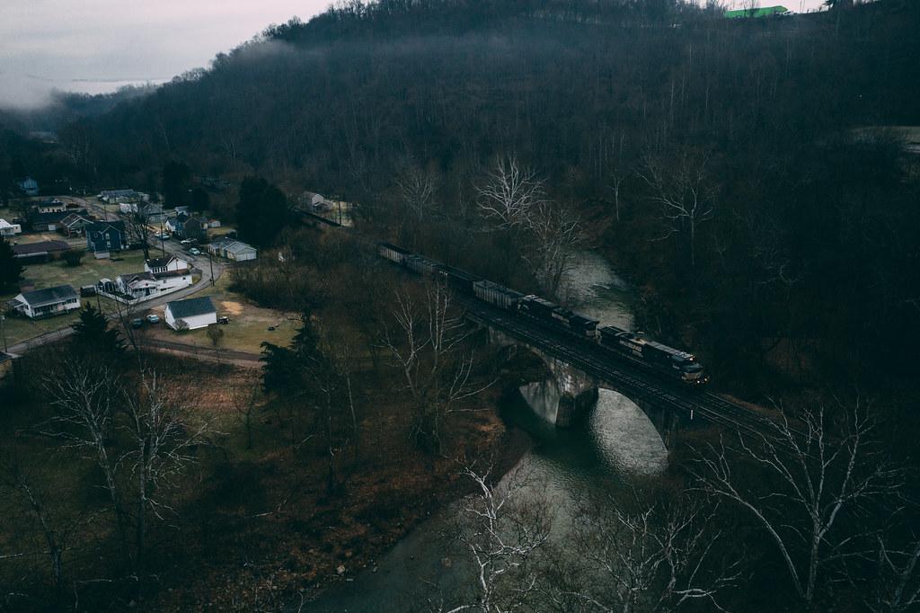 First train in Clarksville
