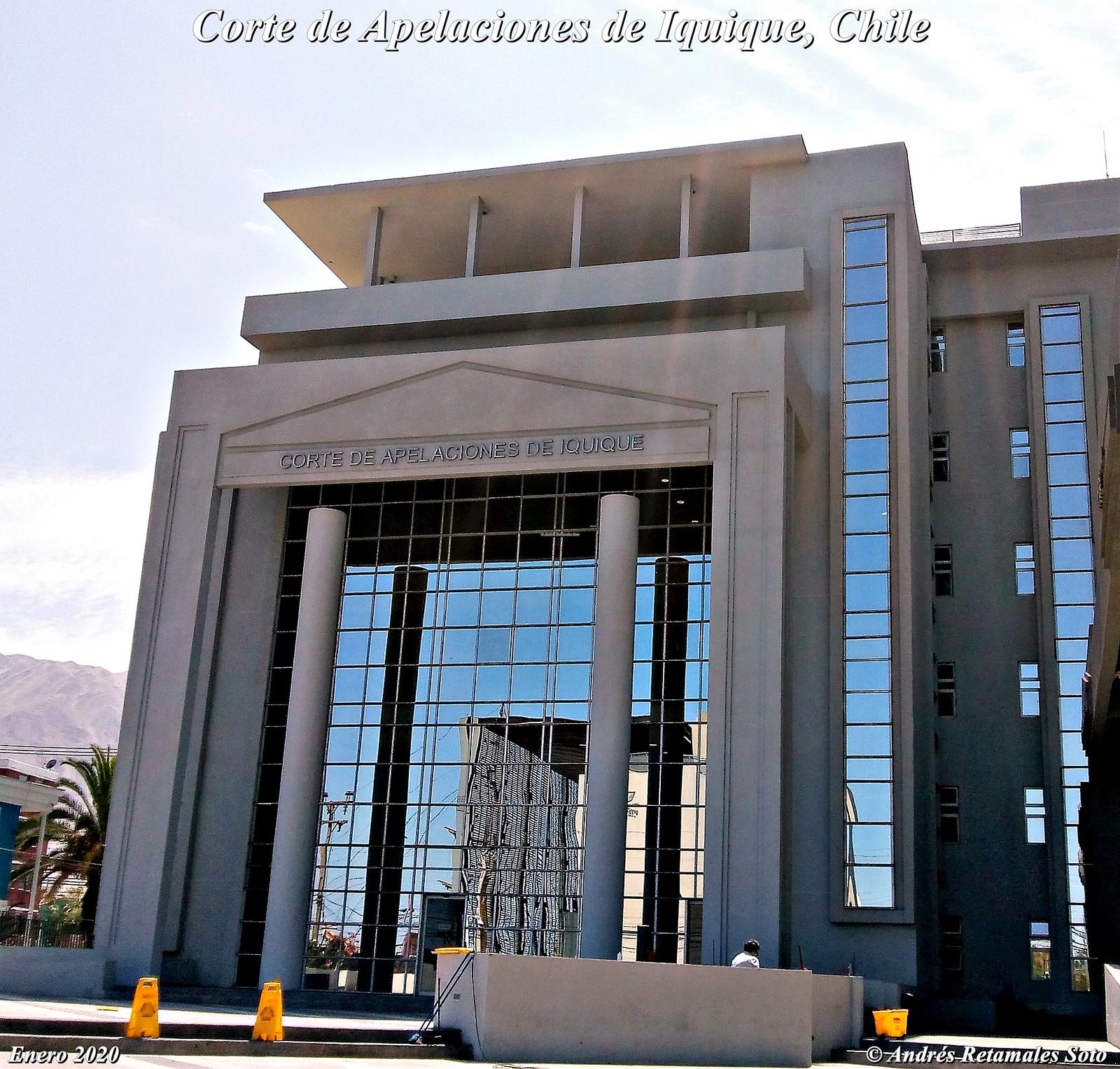 Corte de Apelaciones de Iquique, Chile, enero 2020. ⚖️🆑 - Andrés Retamales