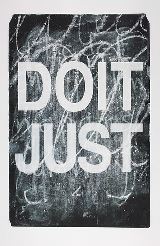 DO IT JUST | by normaleditionsworkshop