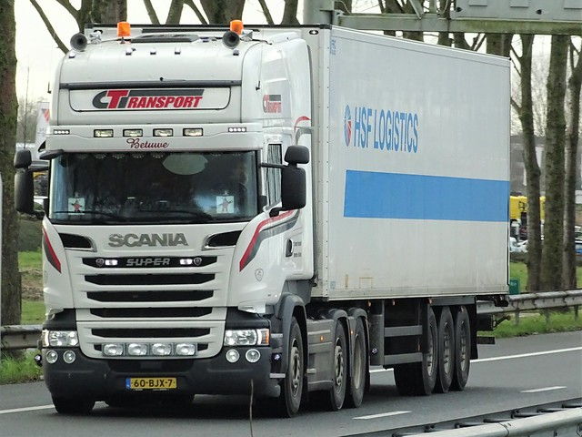 Scania R-series topline from CTransport Holland.