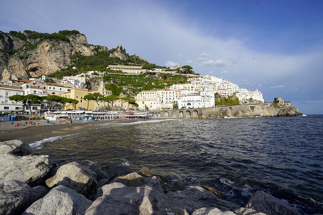 Italy 2019, Amalfi Coast, Amalfi, city on the sea 2