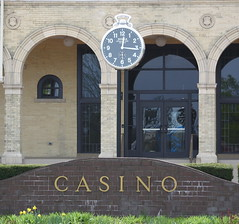 (former) Belle Isle Casino Clock