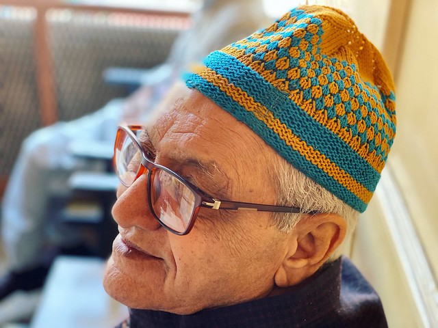 City Life - Haji Fayazuddin's Hand-Knitted Cap, Old Delhi