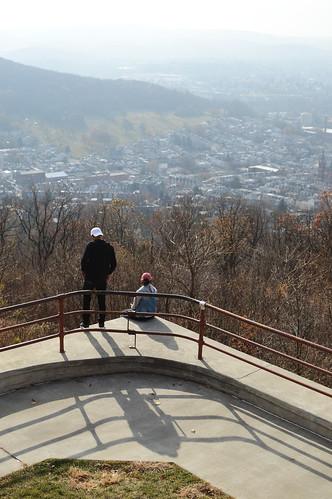 reading pa pennsylvania pagoda 2019 november couple shadows