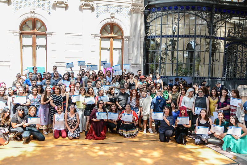 Ceremonia de cierre de Talleres Santiago Cultura 2019