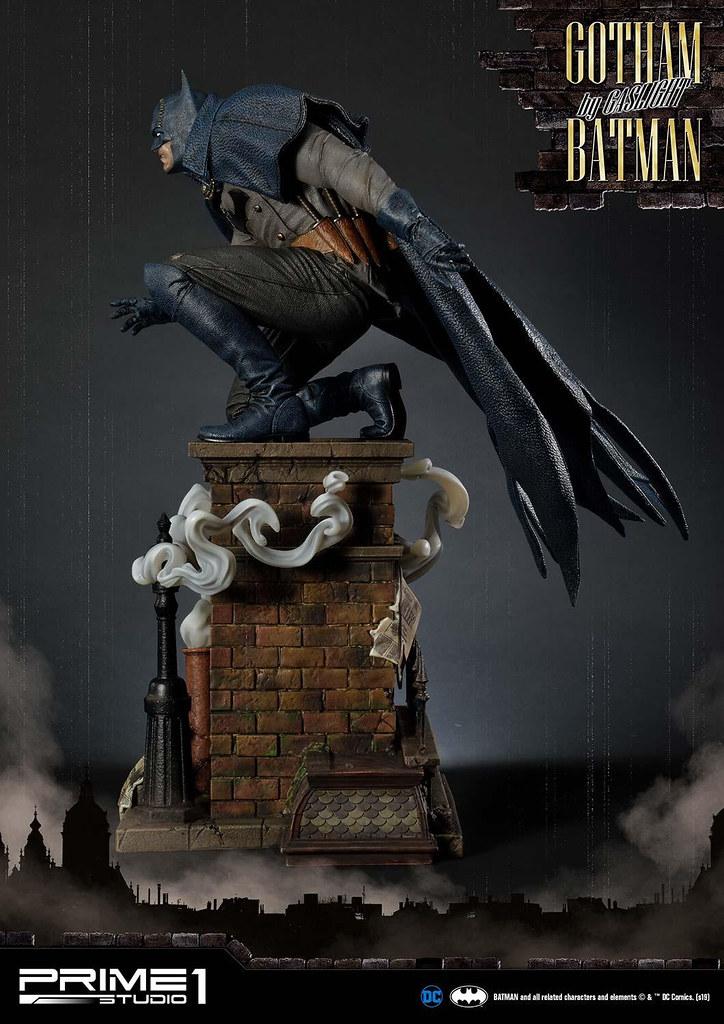 穿梭到濃霧瀰漫的維多利亞時代! Prime 1 Studio《蝙蝠俠:煤氣燈下的高譚市》蝙蝠俠 藍色版 バットマン ブルー Ver. 普通版/EX版