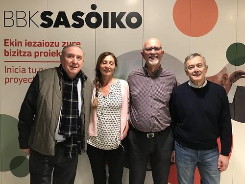 BBK Sasoiko con Enrique Sacanell