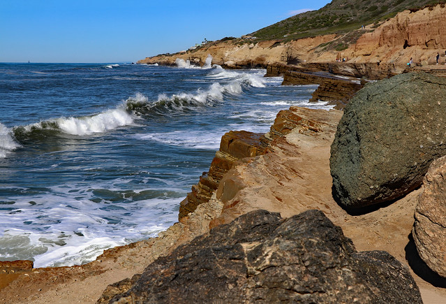 Cabrillo Point and Sunset Cliffs Natural Park, San Diego, California