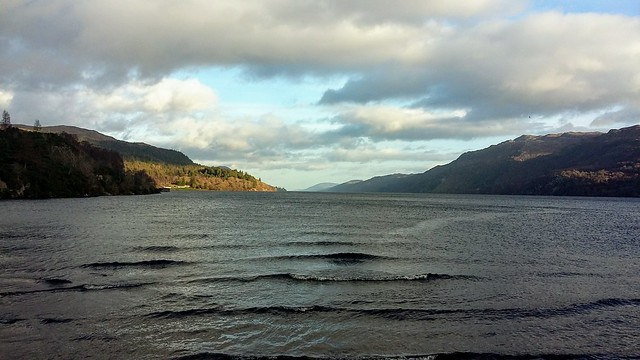 Loch Ness Viewpoint, Fort Augustus, Dec 2019