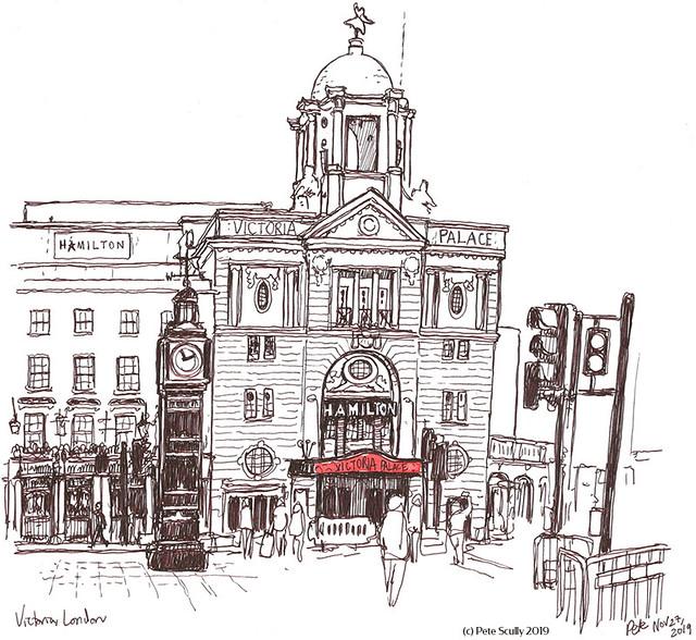Victoria Palace Theatre London sm
