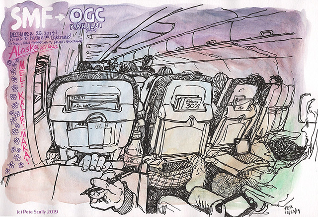 SMF-OGG flight to Kahului sm