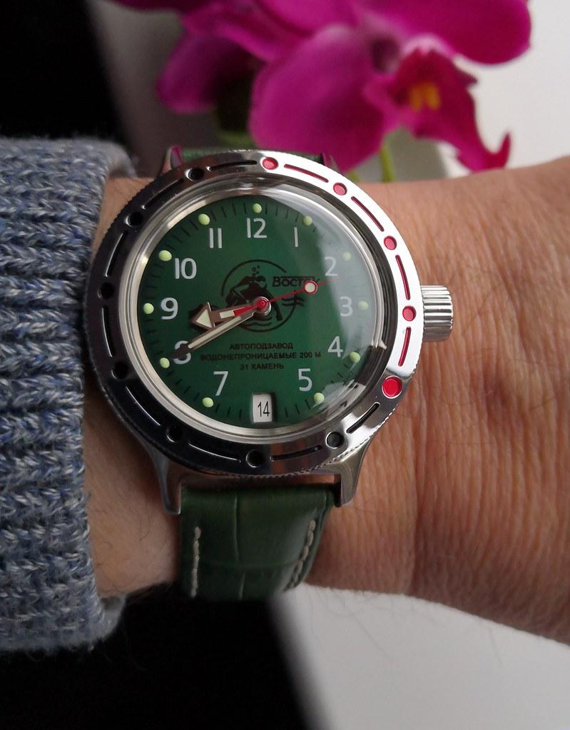'Scuba dude' Vostok Amphibian 420386 (Cal 2416B)