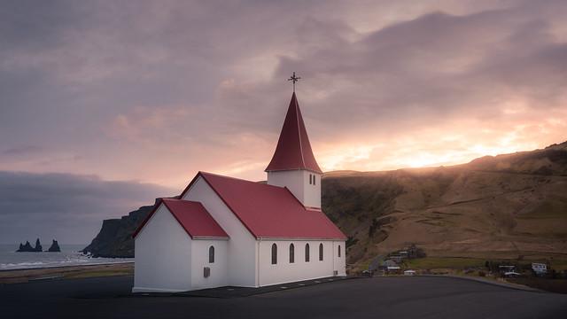Vik Church (Iceland) / Iglesia de Vik (Islandia) (In Explore 14/01/2020)