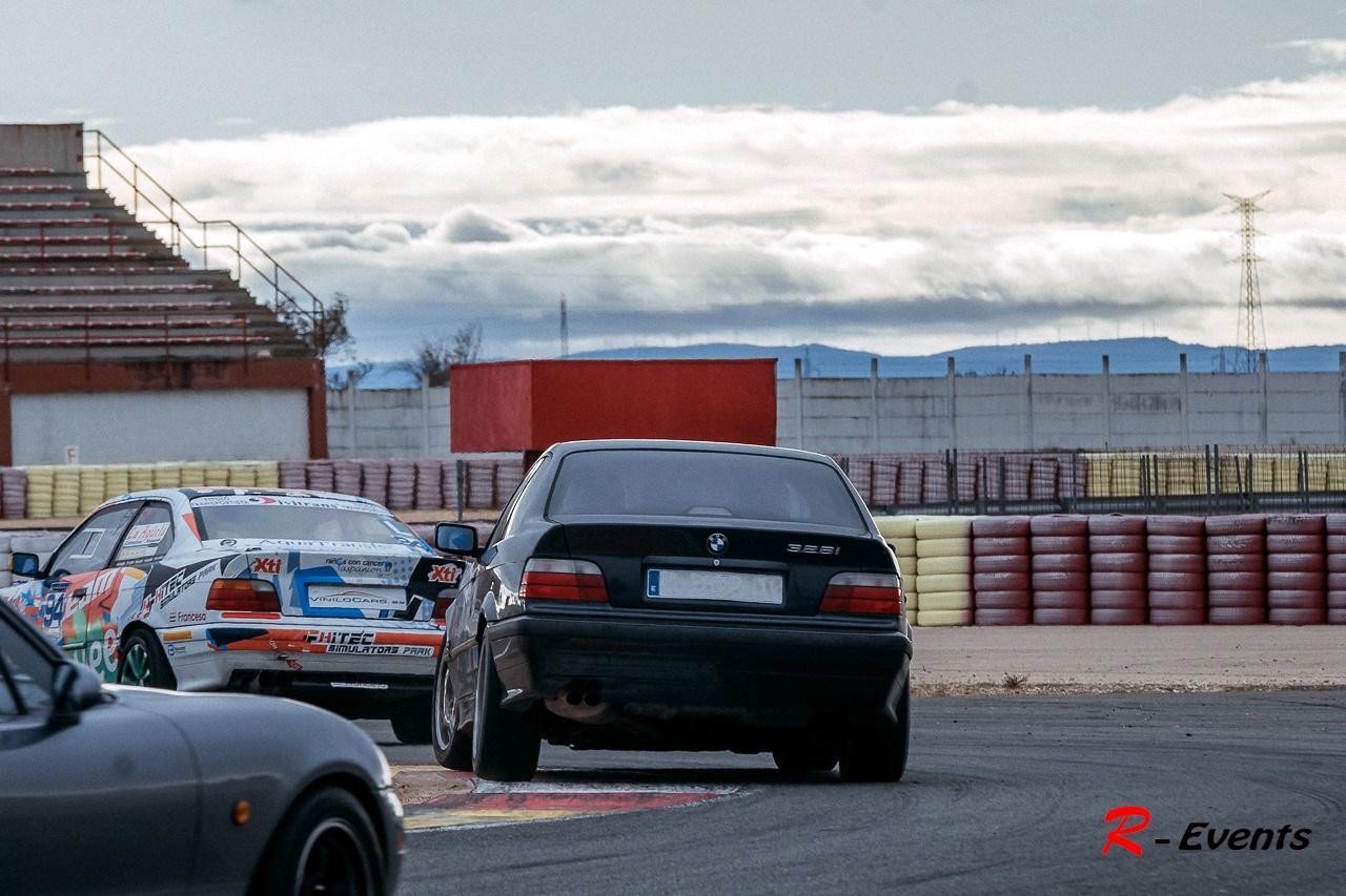 BMW E36 328i en Circuito de Albacete