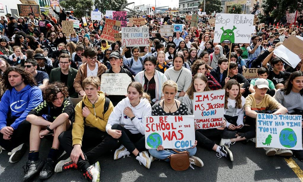 紐西蘭推出課綱協助學生處理生態焦慮。(圖片來源:Dave Rowland/Getty Images)
