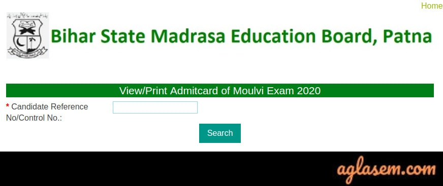 BSMEB Admit Card 2020