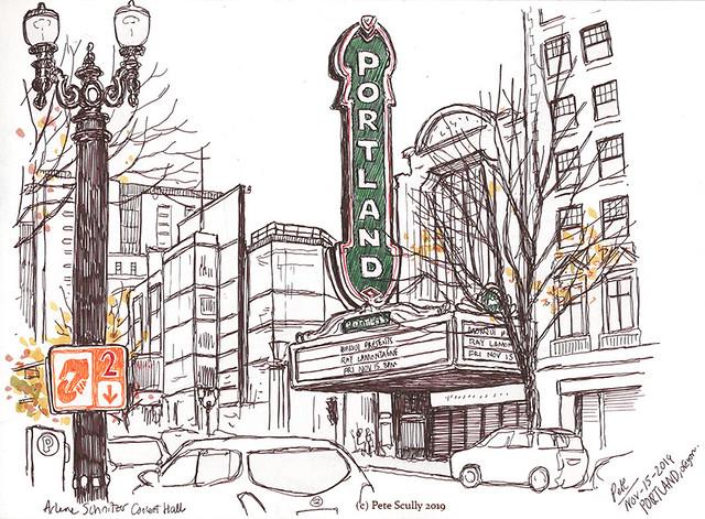 Portland Arlene Schnitzer theatre