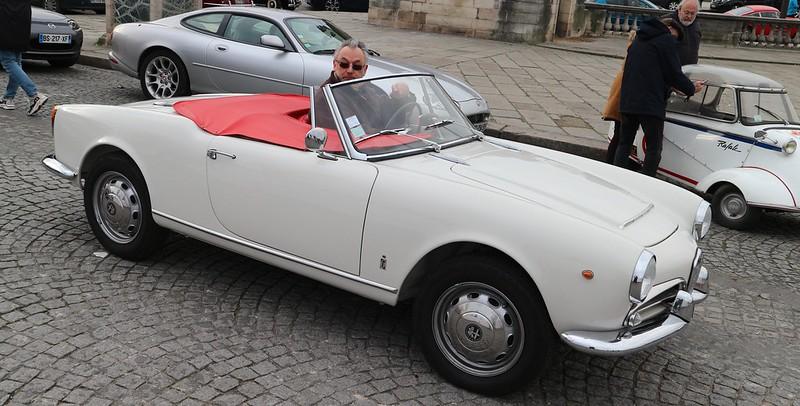 Alfa Romeo Giulia Sprint Spider tipo 10123 49383426138_04ebf52a2a_c