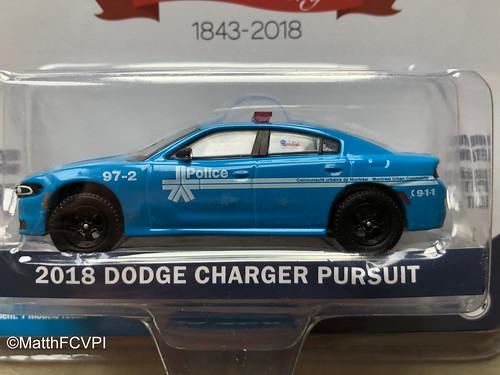 2018 Dodge Charger Pursuit | Montréal Police 175th Anniversary Photo