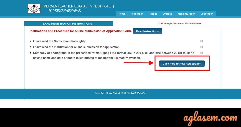 KTET Application Form 2020