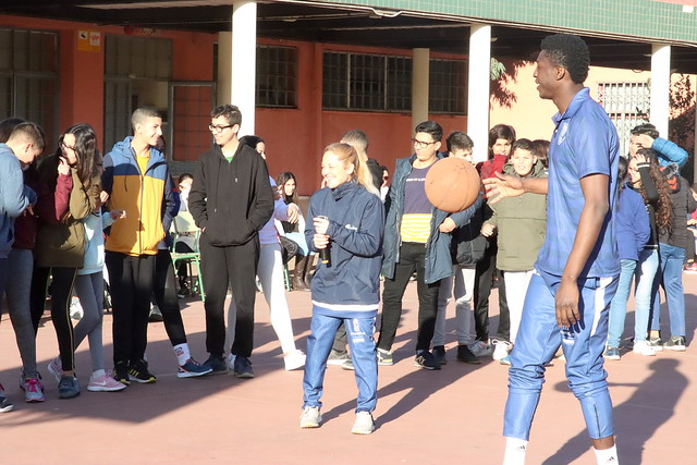 SOCIAL | Belemene visita a los alumnos del IES Virgen de la Victoria