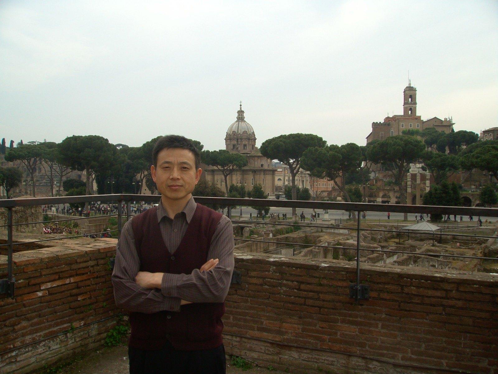 SVD - Padre James Li a Roma con la Comunità Cinese