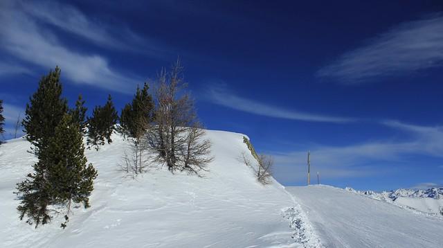 Journée de ski à Champex-Lac