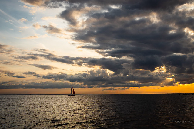 Sail under the clouds...