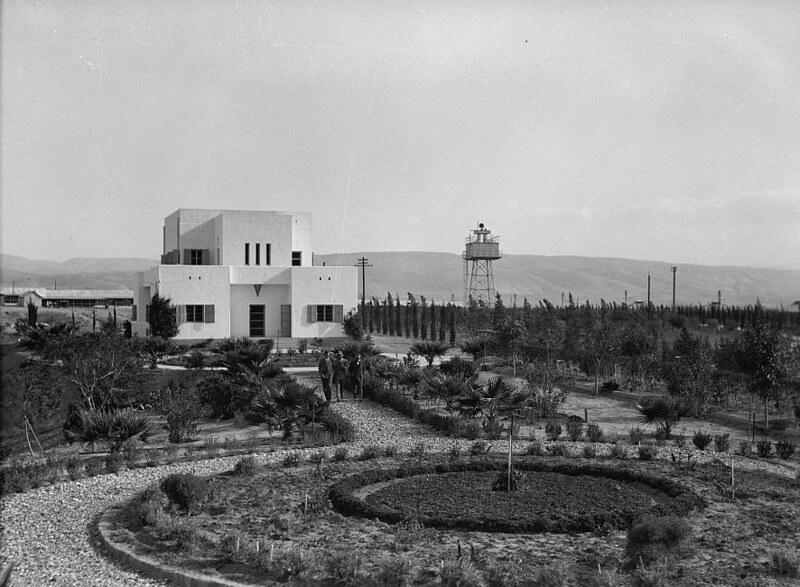 Naharaim-plant-rutenbergs-home-and-offices-1933-46-15241v