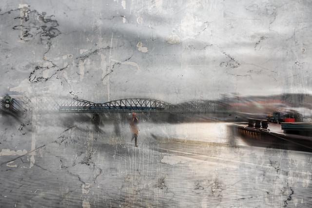 Weird day on the Moldau river