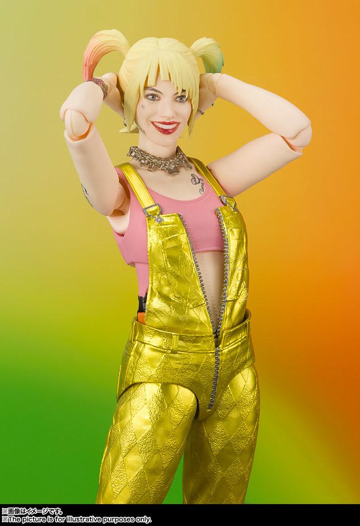 那雙復古溜冰鞋真好看~! S.H.Figuarts《猛禽小隊:小丑女大解放》「哈莉·奎茵 (ハーレイ・クイン) BIRDS OF PREY」可動人偶華麗現身!