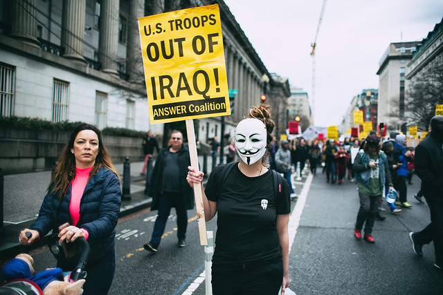 U.S. Troops Out of Iraq!