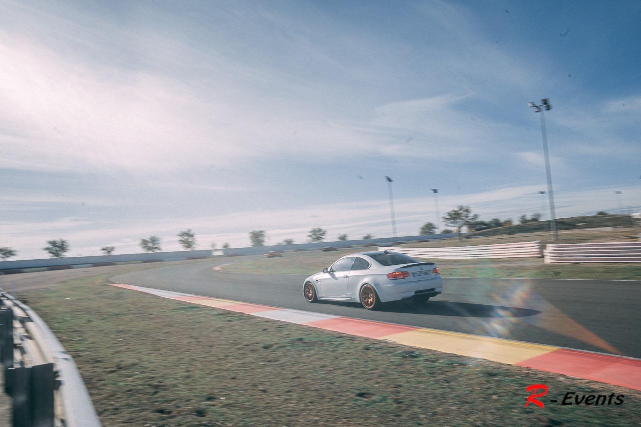 M3 e92 en el circuito de Albacete