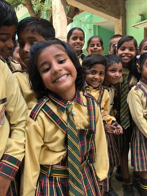 Indische Schülerin